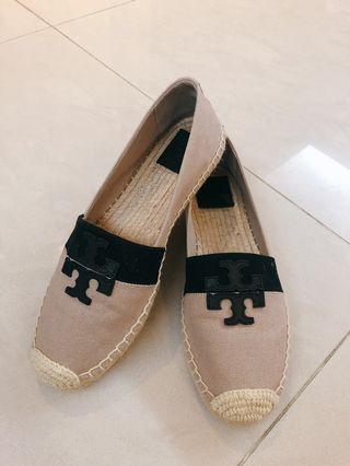 Tory Burch Canvas Espadrille 100%NEW 全新帆布鞋 美國買