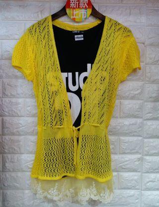 特價品$50【黃色針織外套】原價$179