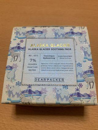 🚚 Dear packer Alaska Glacier Soothing Pack