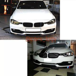 🚚 BMW F30 Stock Carbon Fiber Front Lip