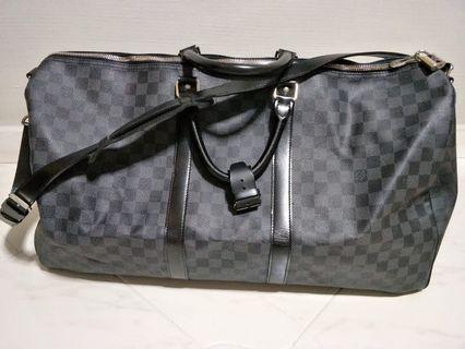 Louis Vuitton Damier Graphite Keepall 55