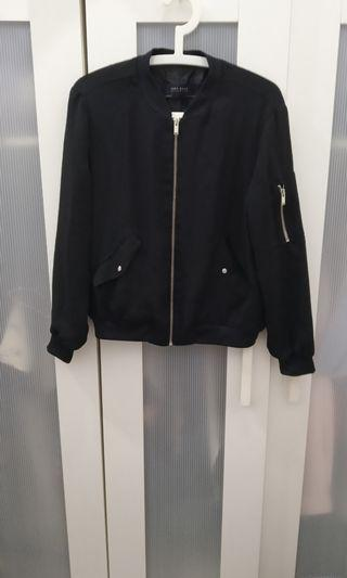 Authentic Zara black bomber