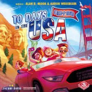 10 Days in USA Board Game
