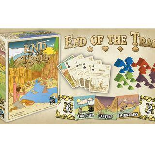 End of the Trail Kickstarter Brand New Board Game
