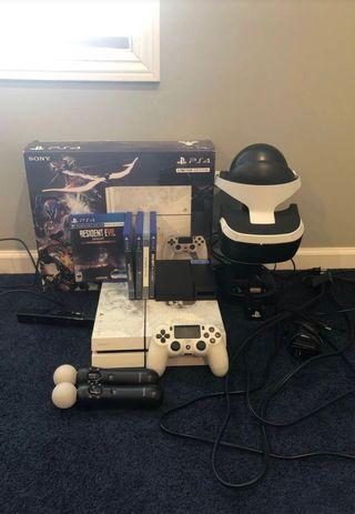 PlayStation 4 Limited Edition 1TB With VR and MOVE