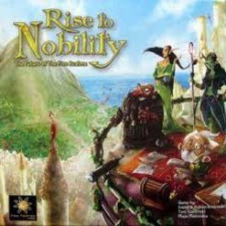 Rise to Nobility Kickstarter Brand New Board Game