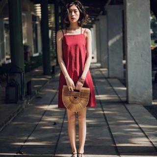 🚚 Red shift dress