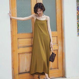 🚚 Olive maxi dress