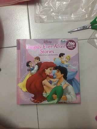 🚚 Disney Princess Story Books