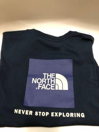 🚚 The northface logo tee