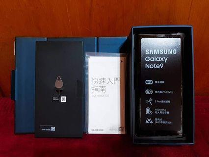 三星Note9红色99%新全套有保養128GB可交换