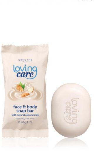 Loving Care Face & Body Soap Bar