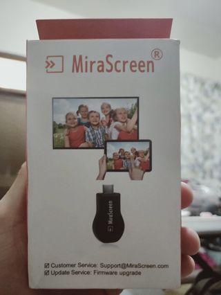 🚚 手機電視無線轉接mirascreen(全新