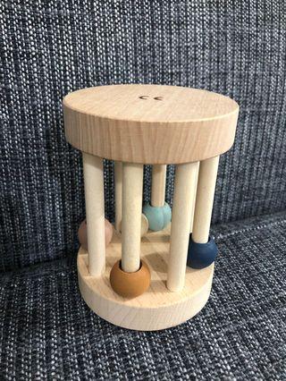bb 搖玲 木制寶寶玩具