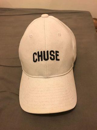 Chuse Cap 白色 老帽