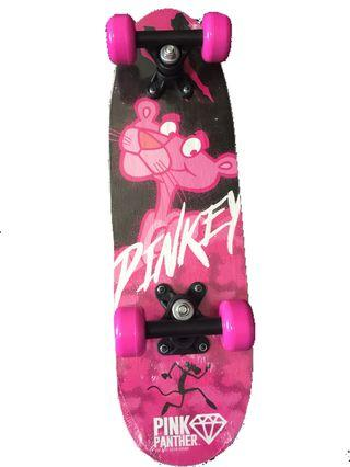 Pink panther skateboard for children