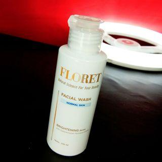 💀 Floret Facial Wash for Normal Skin 100ml