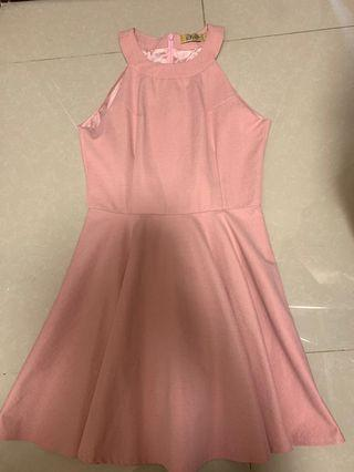 Pink A-line one pice
