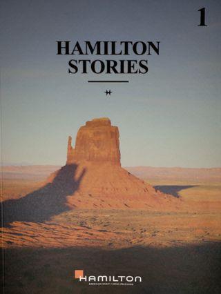 Hamilton Stories 圖書 ~ 共63頁,20cm x 27cm, 印刷精美