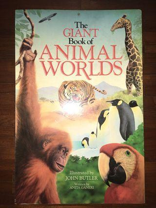 🚚 The Giant book of animal worlds
