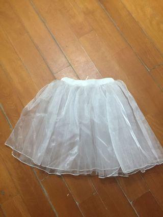 白色芭蕾舞裙