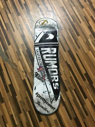 Skateboard Deck Rumors
