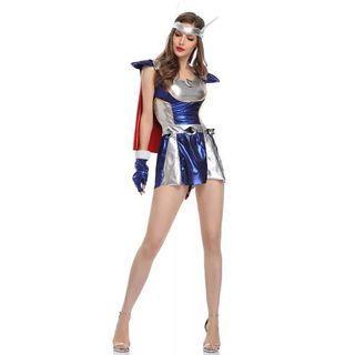 女版雷神服裝 #cosplay #thor #party #show #sexy #雷神 #啦啦隊 #萬聖節 #角色扮演 #性感 #內衣 #易服 #動漫 #舞台 #表演 #派對  *不包鞋