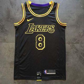 9810c92a0 Black Mamba Kobe Bryant Los Angeles LA Lakers Nike swingman jersey 24 and 8