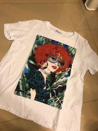 Zara oversizes T shirt