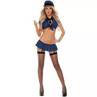 警察服裝 #cosplay #party #show #sexy  #啦啦隊 #萬聖節 #角色扮演 #性感 #內衣 #易服 #動漫 #舞台 #表演 #派對  *不包鞋