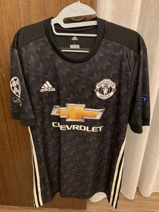 WTS 2017 Manchester United Player Version Jersey Size Large with Matic Nameset