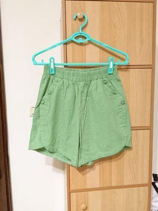 🚚 童趣短褲(青綠)
