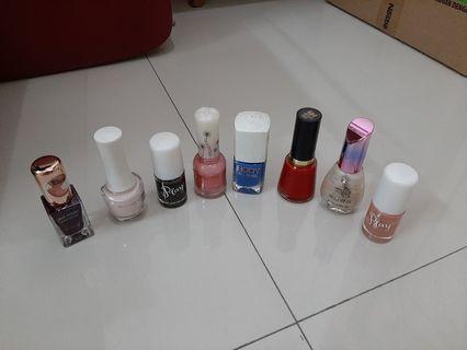 Nail Polish Kutek korea revlon, etude house, miniso, face shop, cotton on