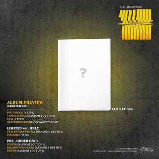 Stray Kids <Clé 2 : Yellow Wood> LIMITED VERSION