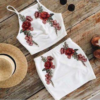Rose Embroidery Set