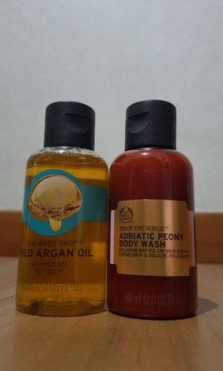 The Body Shop Soap Package
