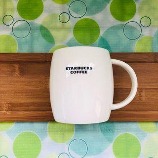 🚚 《Starbucks星巴克》純白弧形馬克杯