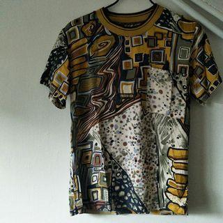 🚚 滿版 幾何圖形 短袖襯衫