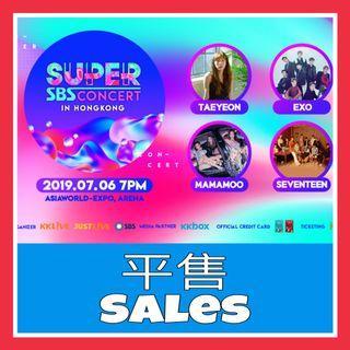 SBS Super Concert HK Exo Taeyeon seventeen ab6ix