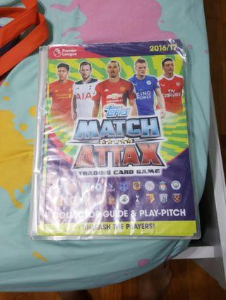 Match Attax 16/17 nearly full collection