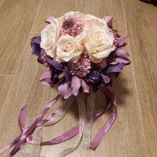 結婚絲花花球