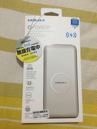 全新「無線充電行動電源」10000mAh
