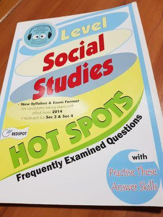 O level social studies hot spots