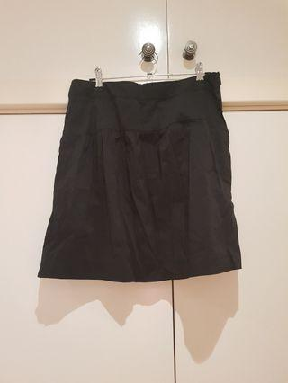 MARCS Black High Waisted A Line Skirt Size M/10