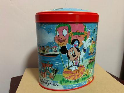 Tokyo Disneyland Sea Mickey 鐵盒