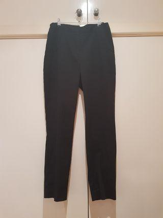 Cue Black Tapered Pants Size S/8