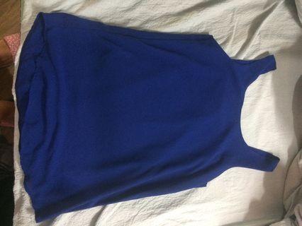 Blue vest 紡紗