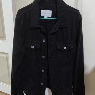 Pull & Bear Black Denim Jacket