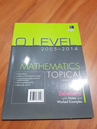 O level mathematics topical