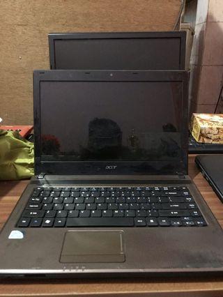 Laptop Acer Intel Pentium